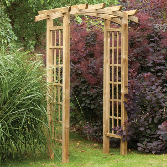 My garden trellis make your garden beautiful for Garden archway designs